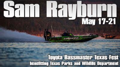 Toyota Bassmaster Texas Fest May 17-21 on Rayburn