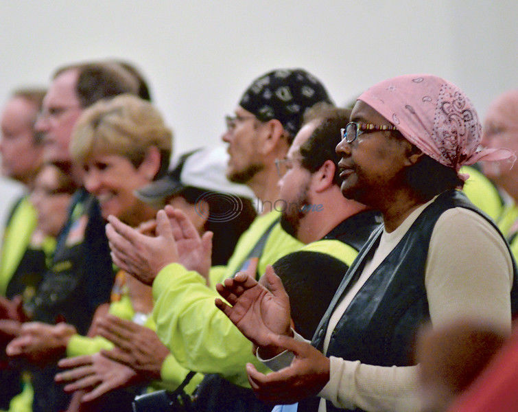 Bikers blessed at College Hill Missionary Baptist Church