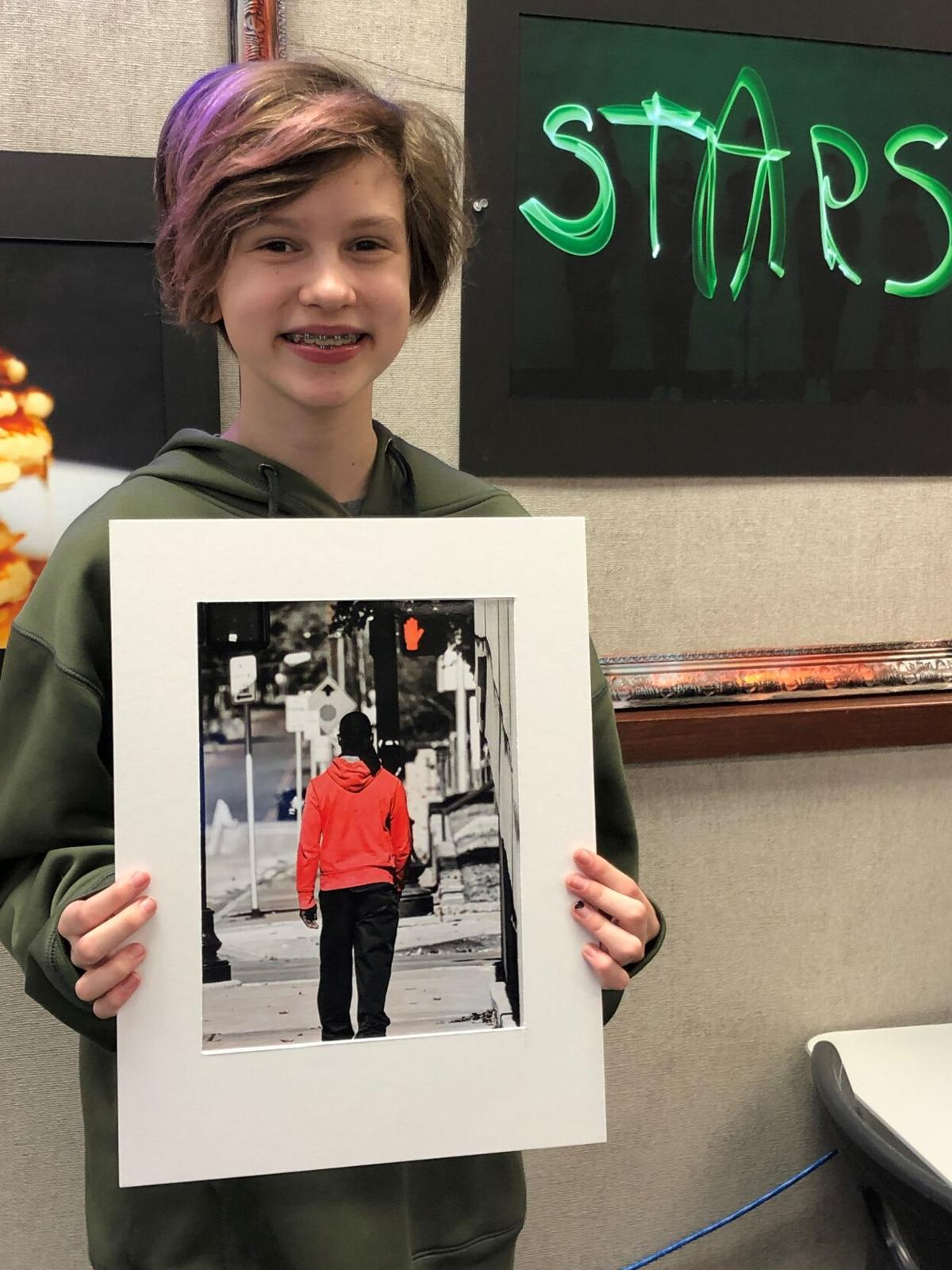 Caldwell Arts Academy eigth grader, Tyler Legacy High School senior art pieces selected to display at Austin Capitol