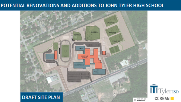 Tyler ISD selects architects for possible bond for high schools