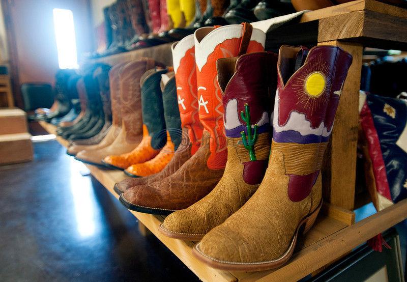 VIDEO: Ben Wheeler custom bootmaker offers one-of-a-kind shoes