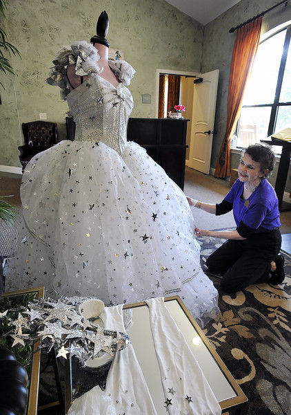 Many gowns on display at Festival Gone By exhibit