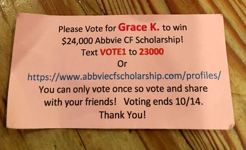 Why grandmas rule: East Texas grandma needs your vote to help granddaughter win a $24,000 AbbVie Cystic Fibrosis Scholarship