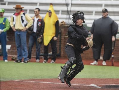 COSTUME BALL: Tyler Junior College Apaches hold annual Halloween baseball game