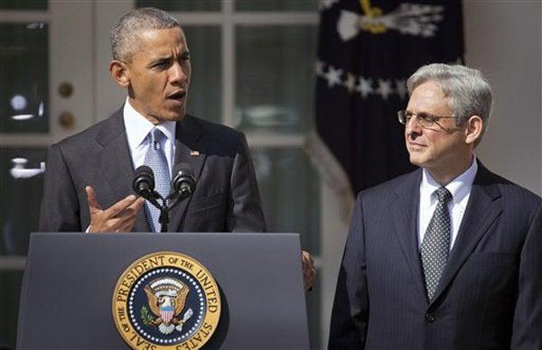 Obama nominates Judge Merrick Garland to Supreme Court