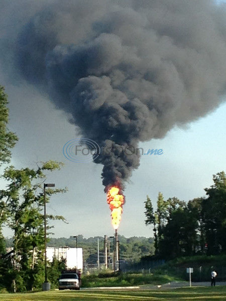 UPDATE: Big smoke cloud visible near Tyler was from unplanned refinery event