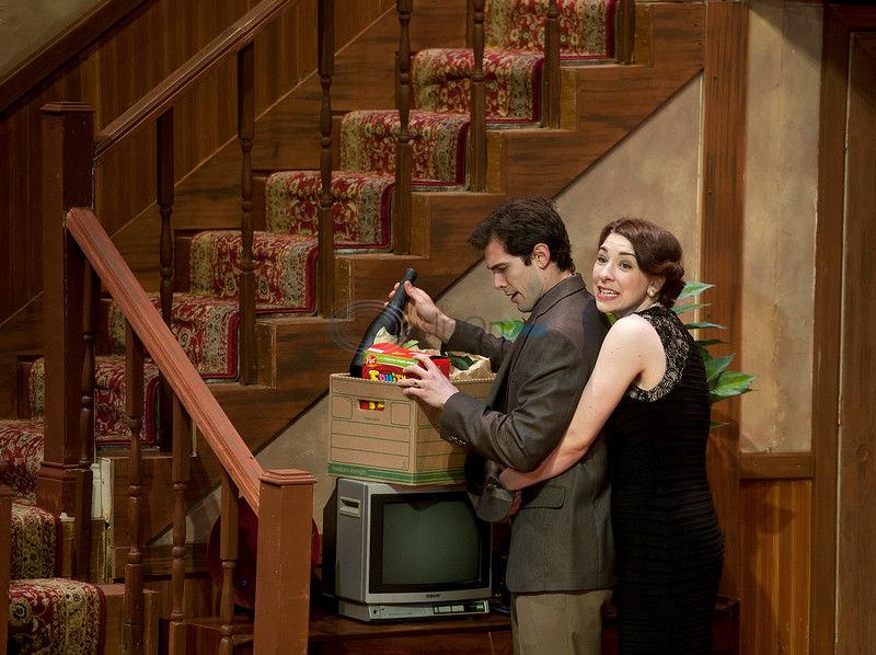 'Noises Off' a play set backstage