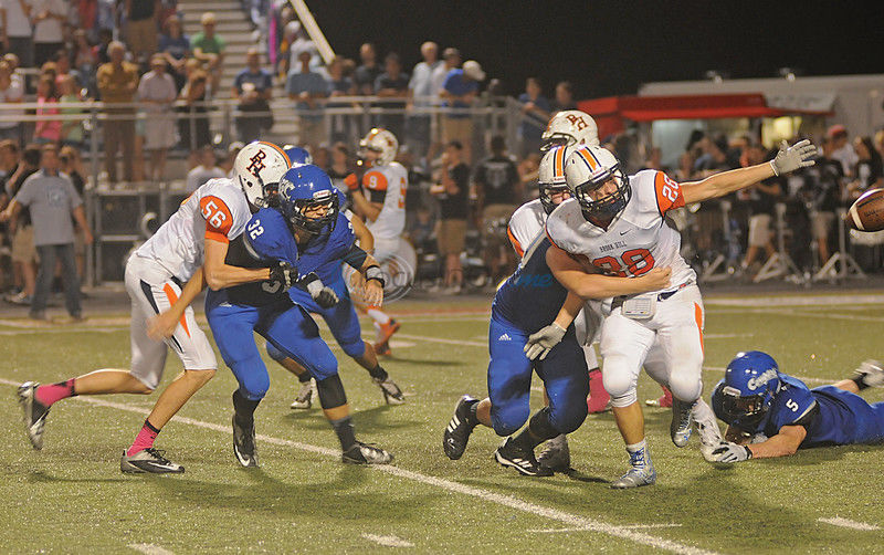 Grace dominates 2nd half to pound Brook Hill 55-14