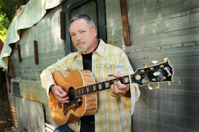 Singer John Berry at Caldwell Saturday
