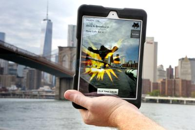 Can it be real? Augmented reality melds work, play (with VIDEO)