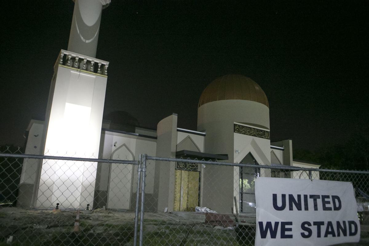 Exchange Mosque Fire Muslims
