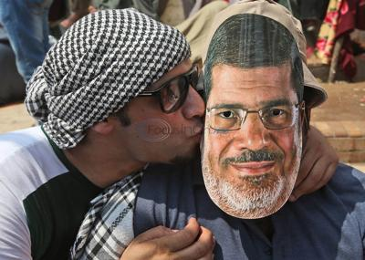 Ousted president's backers protest in Egypt