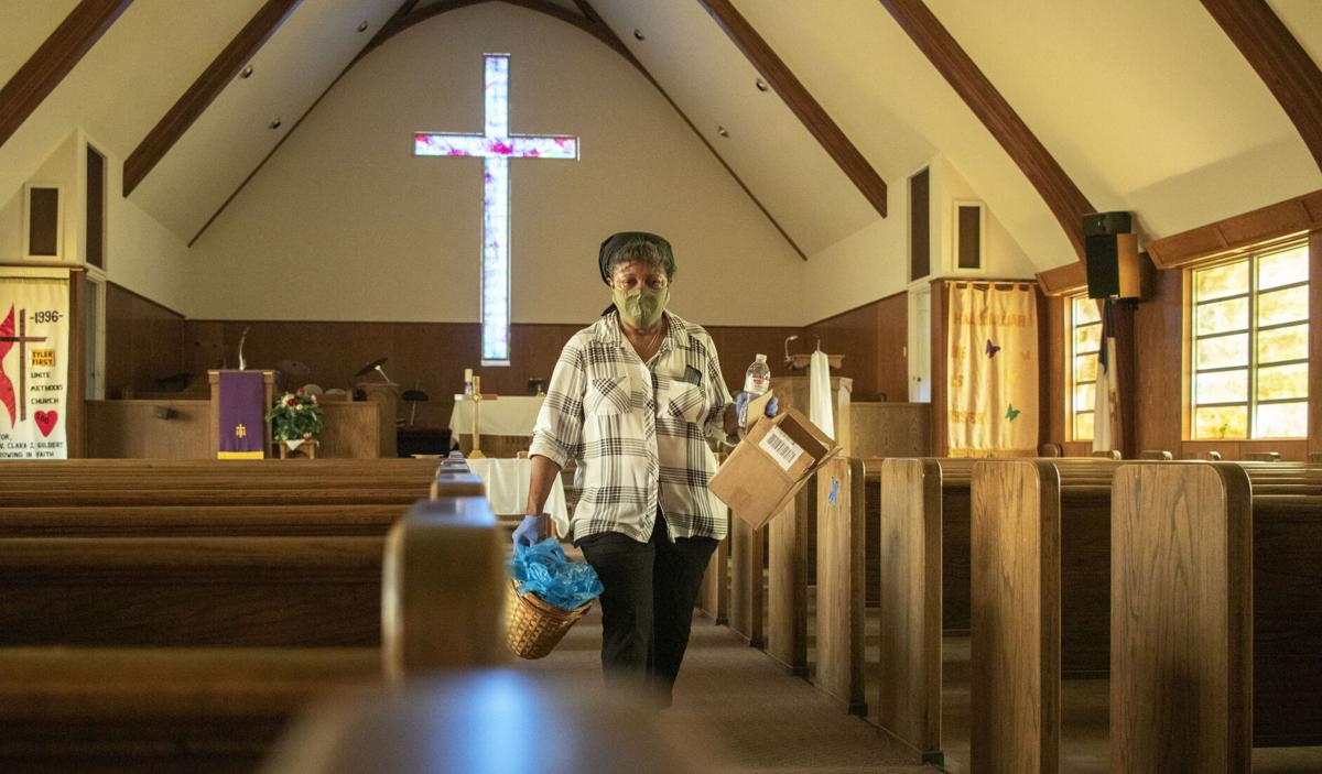 Church members unite after Tyler First United Methodist Church gets vandalized