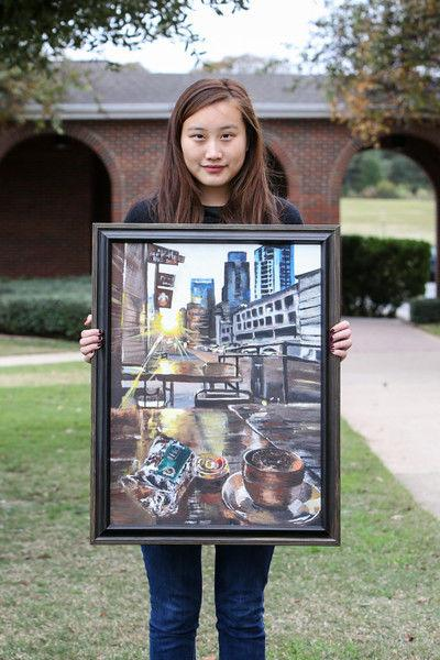 Brook Hill student's painting to go on display on Capitol Hill