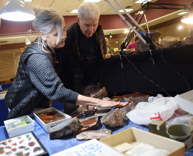 east texas gemstone  rock and jewelry showcase underway at tyler rose garden center