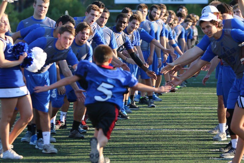 Grace Community School hosts football game with Azleway Boys Ranch