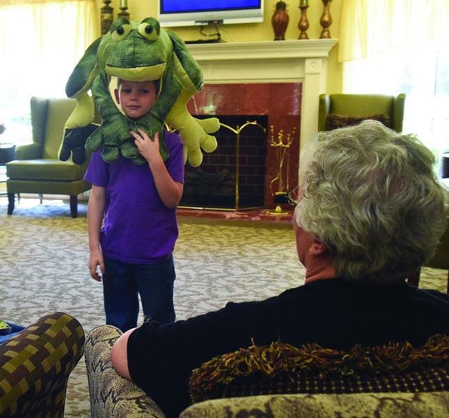 Atria Copeland assisted living program brings seniors, children together