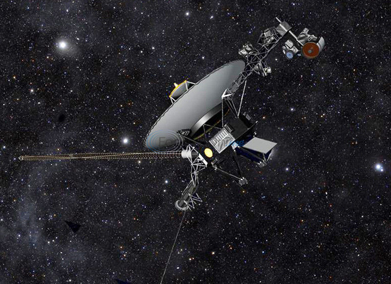 Voyager 1 makes way to edge of space