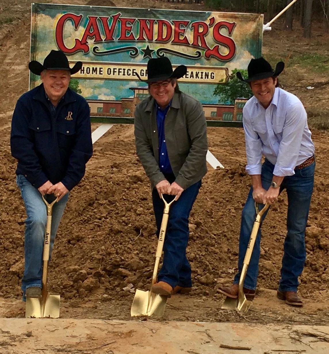 Cavender's groundbreaking