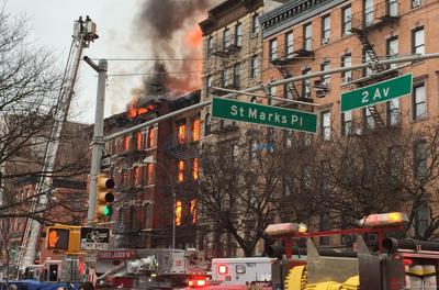 Authorities: 2 people unaccounted for in NYC building blast