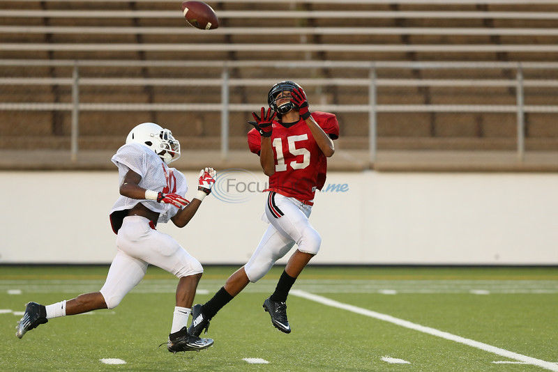 Red Raiders, Marshall finish scrimmage all square