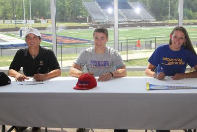Three Brook Hill athletes going to next level