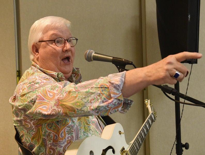 Entertaining senior citizens is East Texan Patrick Odom's joy