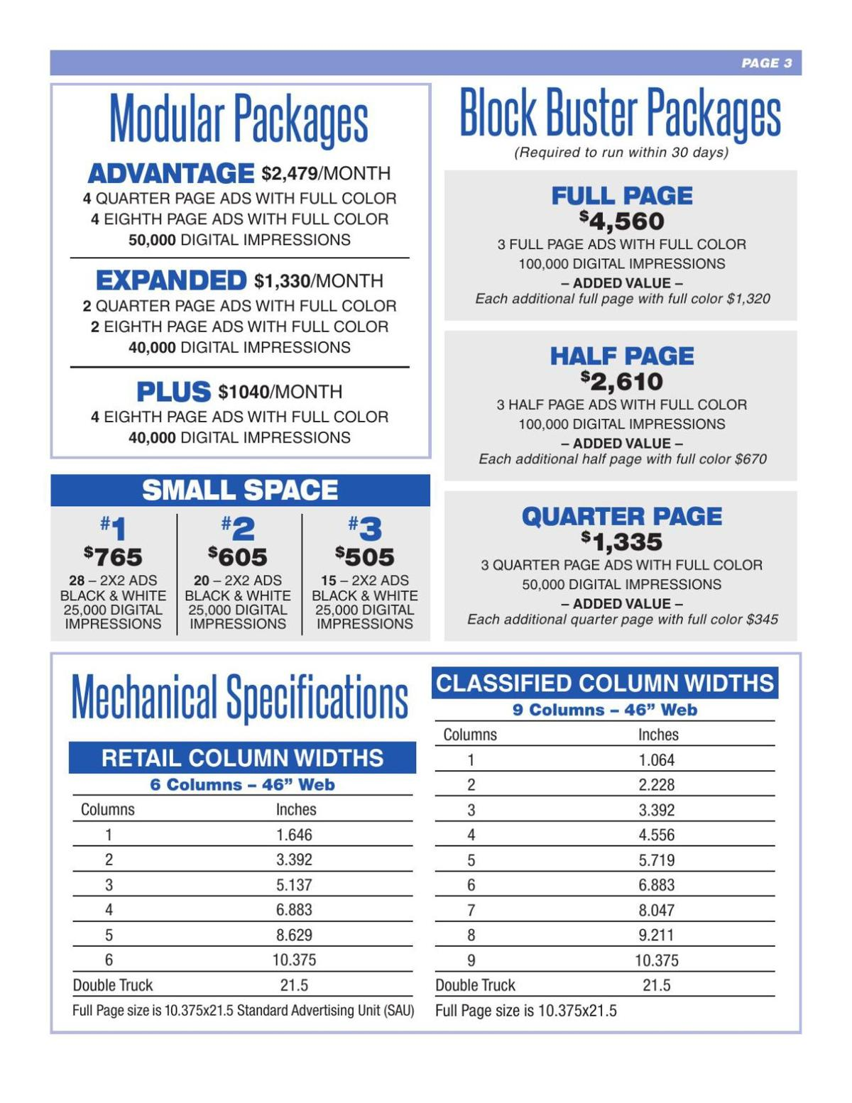 Retail Rate Card 201801 page 3
