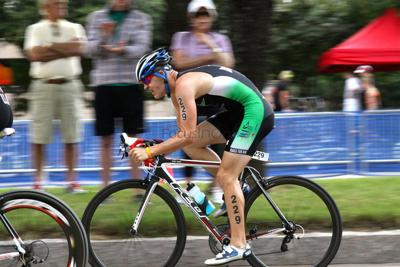 Bach in tune with triathlons