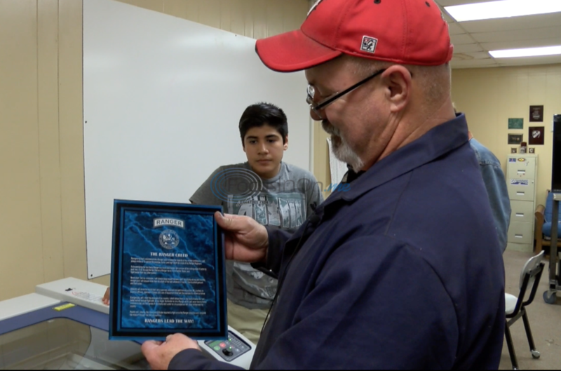 Van High School teacher inspires students with projects for military
