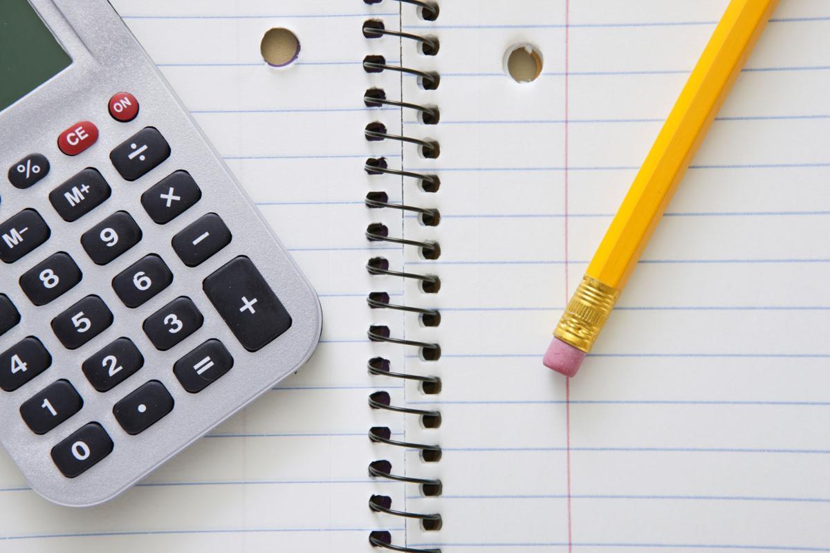 calculator_stock_homework_math_school