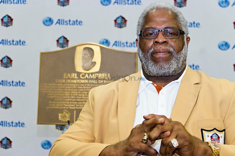 Homecoming: John Tyler's Earl Campbell returns to alma mater