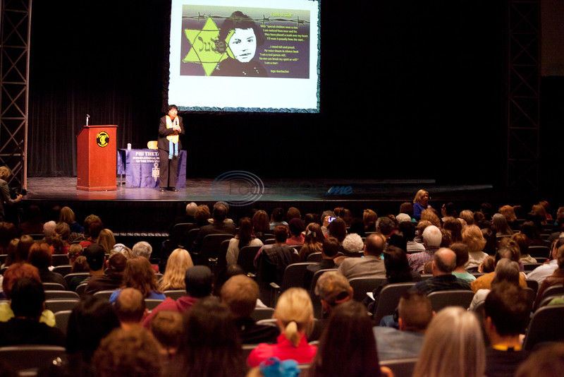 Holocaust survivor shares story at Tyler Junior College