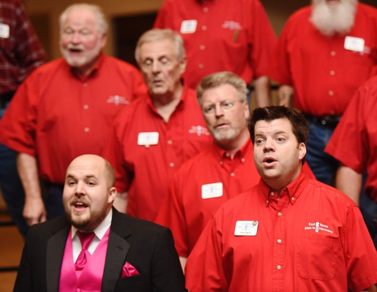 East Texas Men in Harmony to provide singing Valentine's for sweethearts