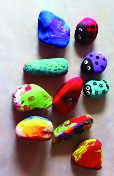 Painted rocks not welcome at Texas state parks
