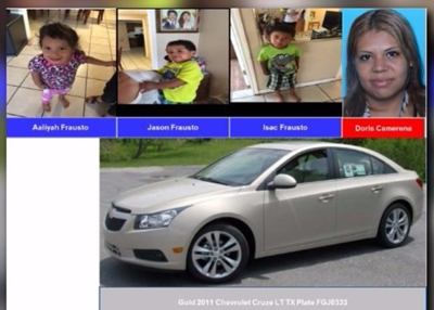 AMBER ALERT: 3 missing Houston area children, suspect sought