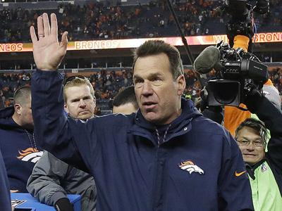 Denver Broncos head coach Gary Kubiak, of Texas A&M, says he's stepping down for health reasons