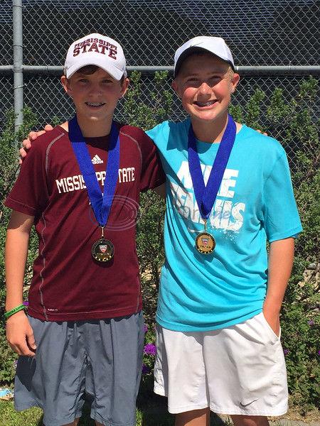 Drain, Guy win doubles title