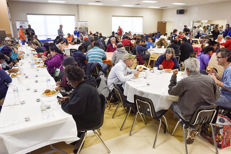 Hiway 80 Rescue Mission feeds hundreds during annual Thanksgiving dinner
