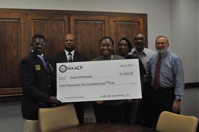NAACP, Tyler Junior College award scholarship