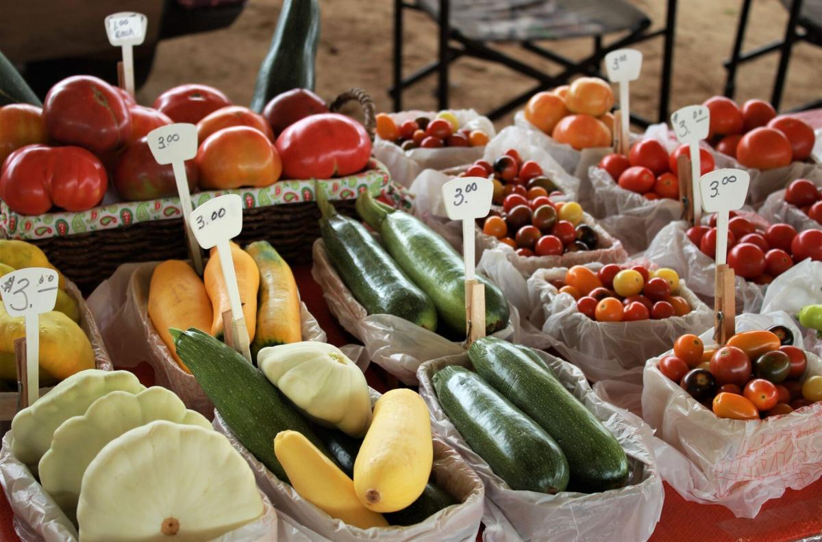 Visit your local farmer's market for locally sourced items