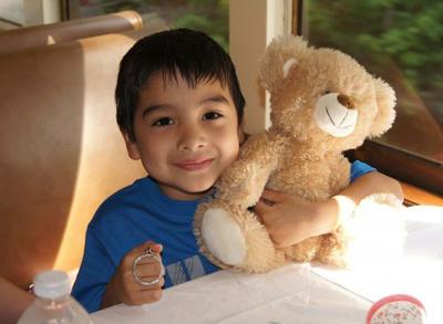 Texas State Railroad using Teddy Bear Ride to support good cause