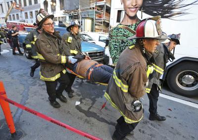 San Francisco tour bus crashes injuring 20 people