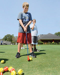 First Tee kickoff offers golf clinic for kids