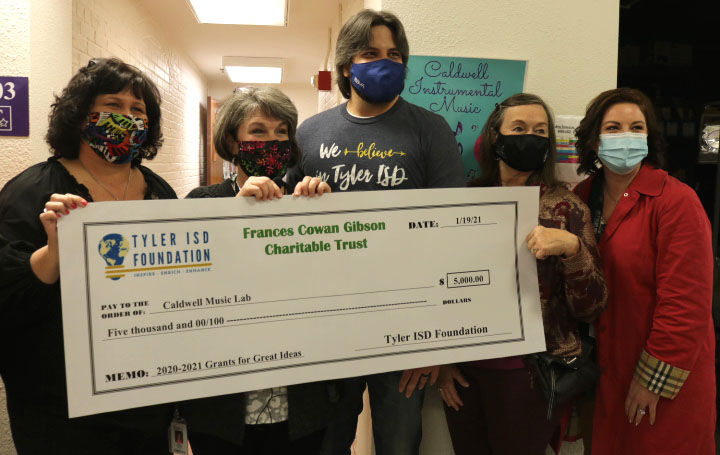 Caldwell Arts Academy receives grants for creative instructional approaches