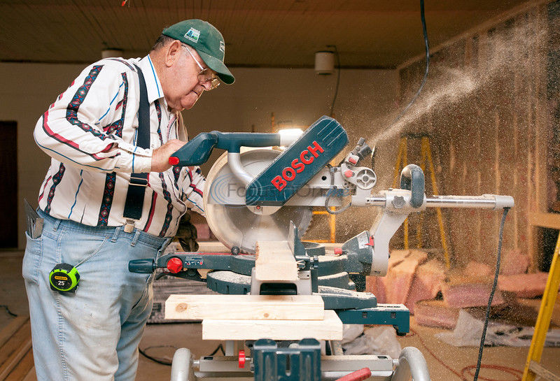 Volunteers help Craft Baptist Church achieve first overhaul