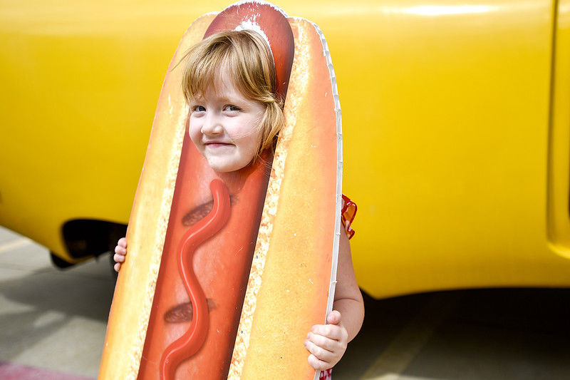 Oscar Mayer Wienermobile makes its way through Tyler and Lindale