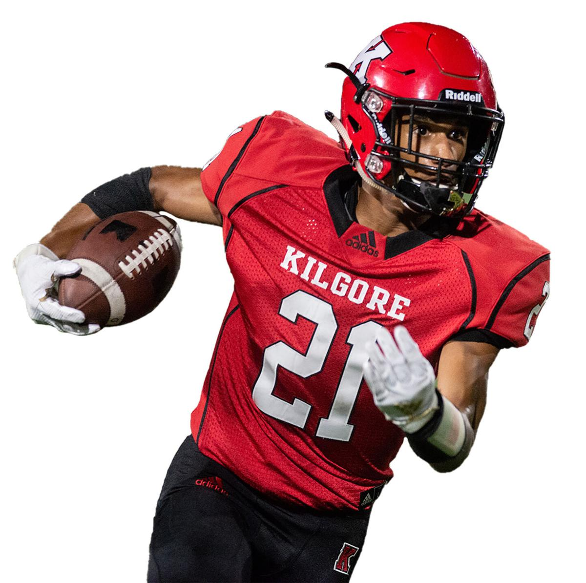 ET Football: Kilgore's Epps earns 4A Built Ford Tough honor