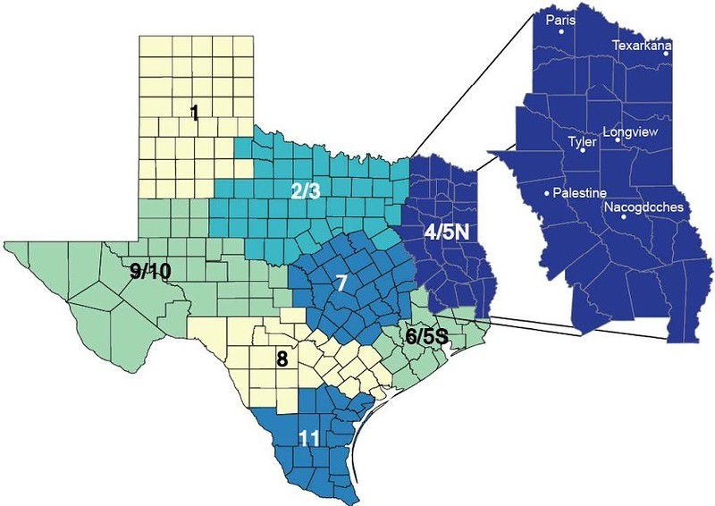 Northeast Texas fares poorly in new health report