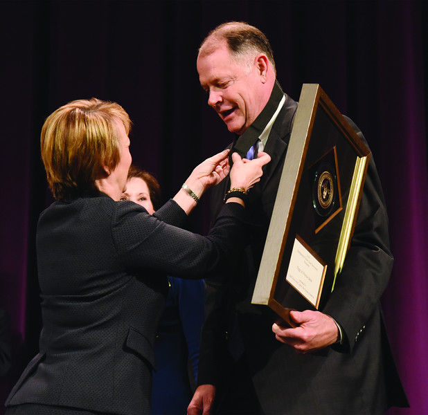 Peggy and Preston Smith honored with Distinguished Citizen Award